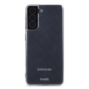 Holdit Samsung Galaxy S21 Soft Touch Cover - Gennemsigtig