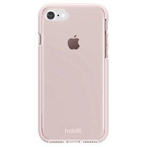 Holdit iPhone SE (2020) / 8 / 7 Seethru Bagside Case - Blush Pink