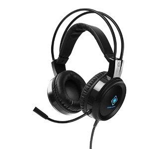 Deltaco DH110 Gaming Headset Til Computer / Playstation / Xbox - Sort