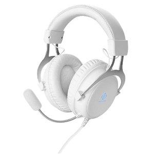 DELTACO WH85 Gaming Headset Over-Ear - Hvid