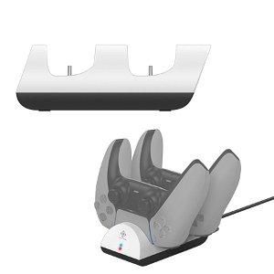 Deltaco Gaming Charging Station - Dual Playstation 5 - Hvid