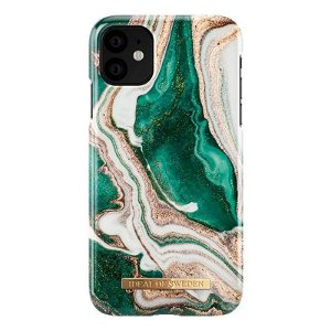iDeal Of Sweden iPhone 11 Cover Fashion Case Golden Jade Marble
