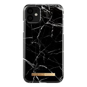 iDeal of Sweden iPhone 11 Cover Fashion Case Black Marble
