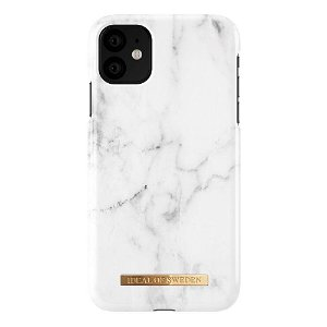 iDeal of Sweden iPhone 11 Cover Fashion Case White Marble