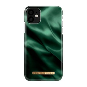iDeal of Sweden iPhone 11 Cover Fashion Case Emerald Satin