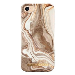 iDeal Of Sweden iPhone SE (2020) / 8 / 7 / 6 / 6ss Fashion Case Golden Sand Marble