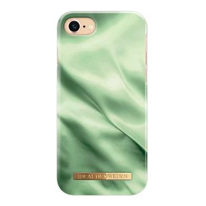 iDeal Of Sweden iPhone SE (2020) / 8 / 7 / 6 / 6s Fashion Case Pistachio Satin