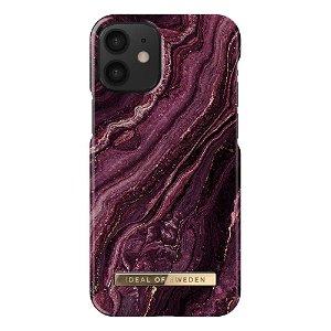 iDeal Of Sweden iPhone 12 Mini Fashion Case Golden Plum