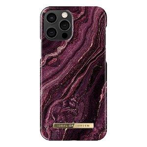 iDeal Of Sweden iPhone 12 Pro / 12 Fashion Case Golden Plum