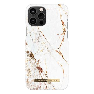 iDeal Of Sweden iPhone 12 Pro / 12 Fashion Case Carrara Gold