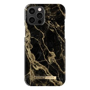 iDeal Of Sweden iPhone 12 Pro Max Fashion Case Golden Smoke Marble