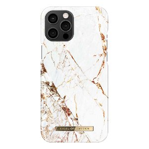 iDeal Of Sweden iPhone 12 Pro Max Fashion Case Carrara Gold
