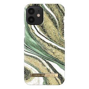 iDeal Of Sweden iPhone 12 Mini Fashion Case Cosmic Green Swirl