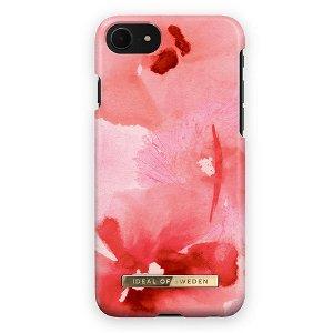 iDeal Of Sweden iPhone SE (2020) / 8 / 7 Fashion Bagside Cover Coral Blush Floral