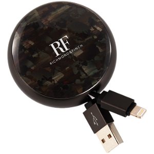 Richmond & Finch Cable Winder Lightning til USB Camouflage