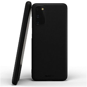Nudient Thin Case V2 Samsung Galaxy S20 Cover - Stealth Black