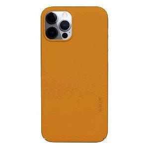 Nudient Thin Case V3 iPhone 12 Pro Max Cover - Saffron Yellow