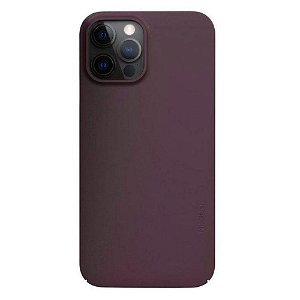 Nudient Thin Case V2 iPhone 12 Pro Max Bagside Cover - Sangria Red