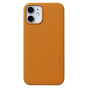 Nudient Thin Case V3 iPhone 12 Mini Cover - Saffron Yellow