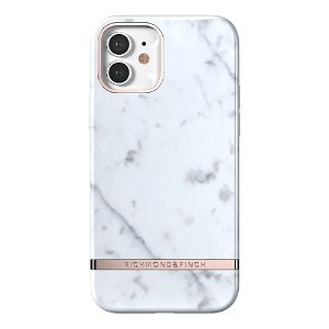 Richmond & Finch iPhone 12 / 12 Pro Cover White Marble