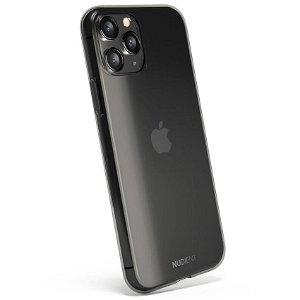 Nudient Thin Case iPhone 11 Pro Cover - Gennemsigtigt / Sort