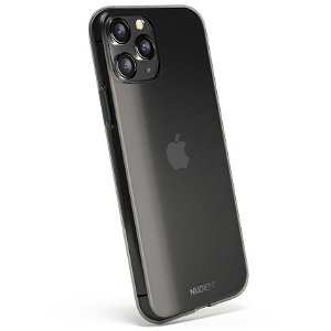 Nudient Thin Case iPhone 11 Pro Max Cover - Gennemsigtigt / Sort