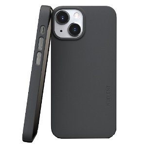 Nudient Thin Case V3 iPhone 13 Mini Cover - Stone Grey