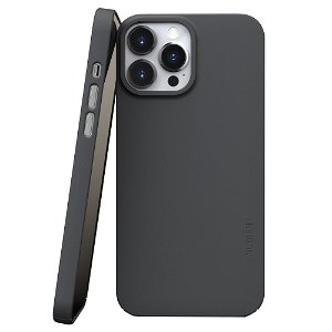 Nudient Thin Case V3 iPhone 13 Pro Max Bagside Cover - Stone Grey