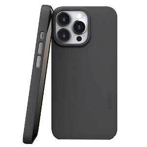 Nudient Thin Case V3 iPhone 13 Pro Bagside Cover - Stone Grey