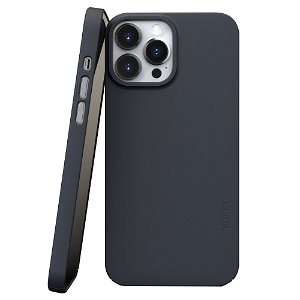 Nudient Thin Case V3 iPhone 13 Pro Max Bagside Cover - Midwinter Blue