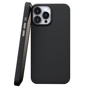 Nudient Thin Case V3 iPhone 13 Pro Max Bagside Cover - Ink Black