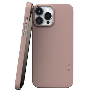 Nudient Thin Case V3 iPhone 13 Pro Max Bagside Cover - Dusty Pink