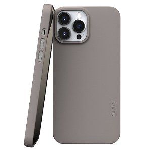 Nudient Thin Case V3 iPhone 13 Pro Max Bagside Cover - Clay Beige