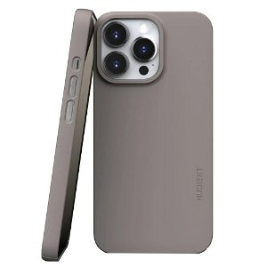 Nudient Thin Case V3 iPhone 13 Pro Bagside Cover - Clay Beige