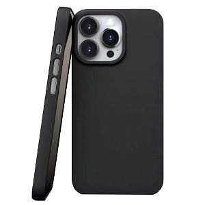 Nudient Thin Case V3 iPhone 13 Pro Bagside Cover - Ink Black