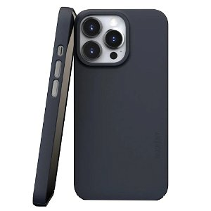 Nudient Thin Case V3 iPhone 13 Pro Bagside Cover - Midwinter Blue