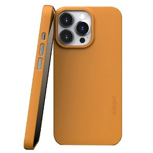 Nudient Thin Case V3 iPhone 13 Pro Bagside Cover - Saffron Yellow