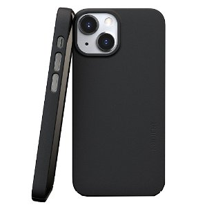 Nudient Thin Case V3 iPhone 13 Mini Bagside Cover - Ink Black