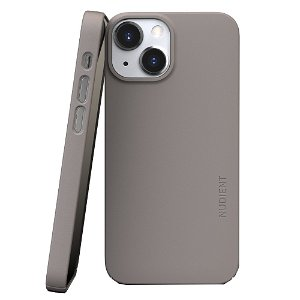 Nudient Thin Case V3 iPhone 13 Mini Bagside Cover - Clay Beige