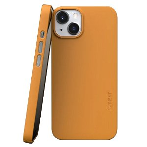 Nudient Thin Case V3 iPhone 13 Bagside Cover - Saffron Yellow