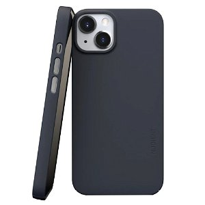 Nudient Thin Case V3 iPhone 13 Bagside Cover - Midwinter Blue