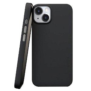 Nudient Thin Case V3 iPhone 13 Bagside Cover - Ink Black