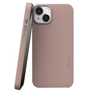 Nudient Thin Case V3 iPhone 13 Bagside Cover - Dusty Pink