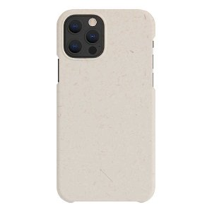 A Good Company iPhone 12 / 12 Pro 100% Plantebaseret Bagside Cover - Vanilla White