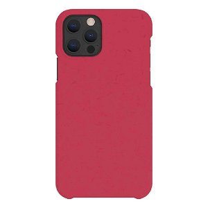 A Good Company iPhone 12 / 12 Pro 100% Plantebaseret Bagside Cover - Pomegranate Red