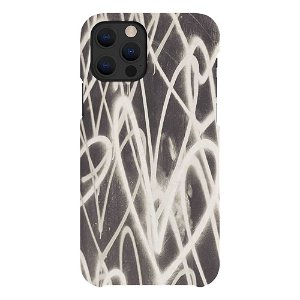 A Good Company iPhone 12 / 12 Pro 100% Plantebaseret Bagside Cover - Grafitti