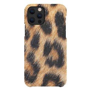 A Good Company iPhone 12 / 12 Pro 100% Plantebaseret Bagside Cover - Leopard