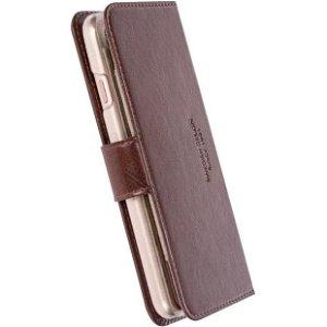 Krusell Ekerö FolioWallet iPhone SE (2020) / 8 / 7 - Coffee