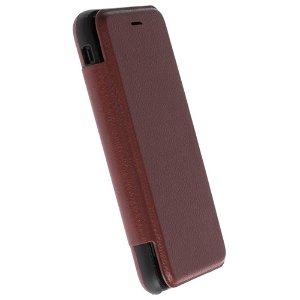 Krusell Timrå 4 Card FolioCase iPhone SE (2020) / 8 / 7 / 6 / 6s Læder Flip Cover - Brun