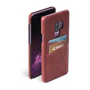 Krusell Sunne 2 Card Samsung Galaxy S9+ (Plus) Cover Rød